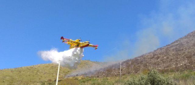 Incendio monte degli Elci 25-27 aprile 2018